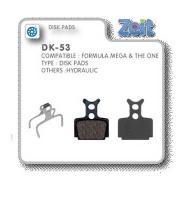 Zeit - Formula Mega / The One Brake Pads [DK-53]