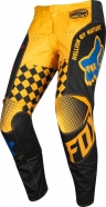 FOX - 180 Czar Black Yellow Pant