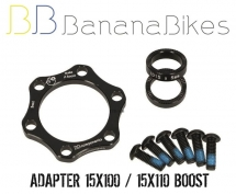 BB Components - MakeItBoost Front Adapter 15x100 / 15x110
