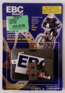 EBC - Resin Mountain Bike Disc Brake Pads (CFA614)