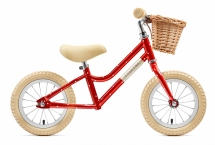 Creme Cycles - MIA RED POLKA