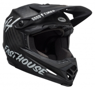 Bell - Full-9 Matte Black/White Helmet