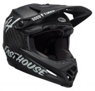 Bell - Full-9 Matte Black/White Helmet