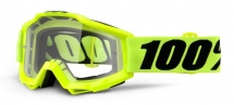 100% ACCURI Clear Lens Goggles
