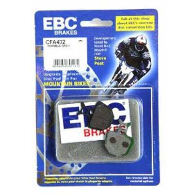 EBC Disc brake pads for Formula ORO [CFA402 Green]