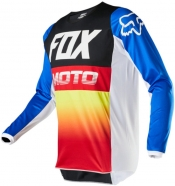 FOX - 180 Fyce Blue Red Jersey