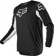 FOX - Prix 180 Black White Jersey