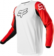 FOX - 180 Prix White Black Red Jersey
