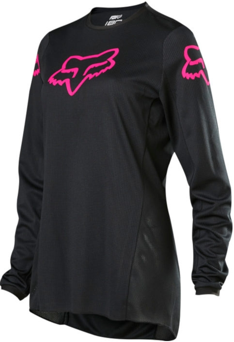 FOX Womens 180 Prix Black Pink Jersey