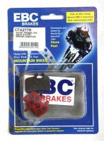 EBC - Disc brake pads for Hayes MX1, MAG, HFX9 and Promax [CFA277R Red]