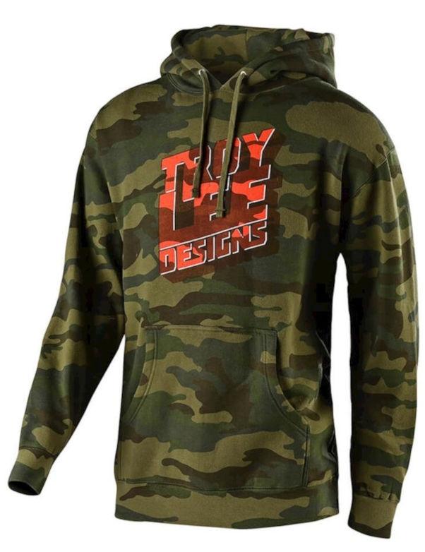 Troy Lee Designs Block Party Pullover Hoodie