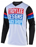 Troy Lee Designs - GP Carlsbad White Black Jersey