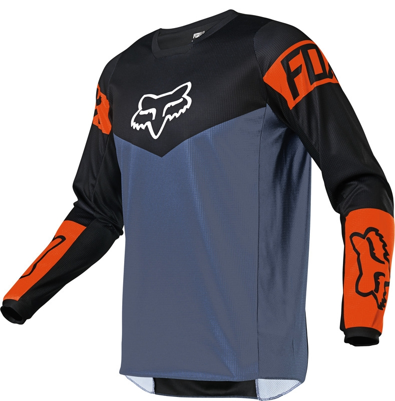 FOX Youth 180 Revn Jersey Blue Steel