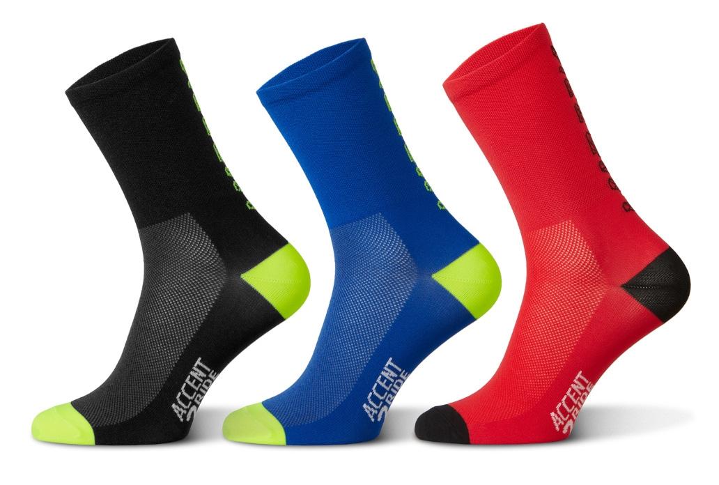 Accent Hero Long Socks Set