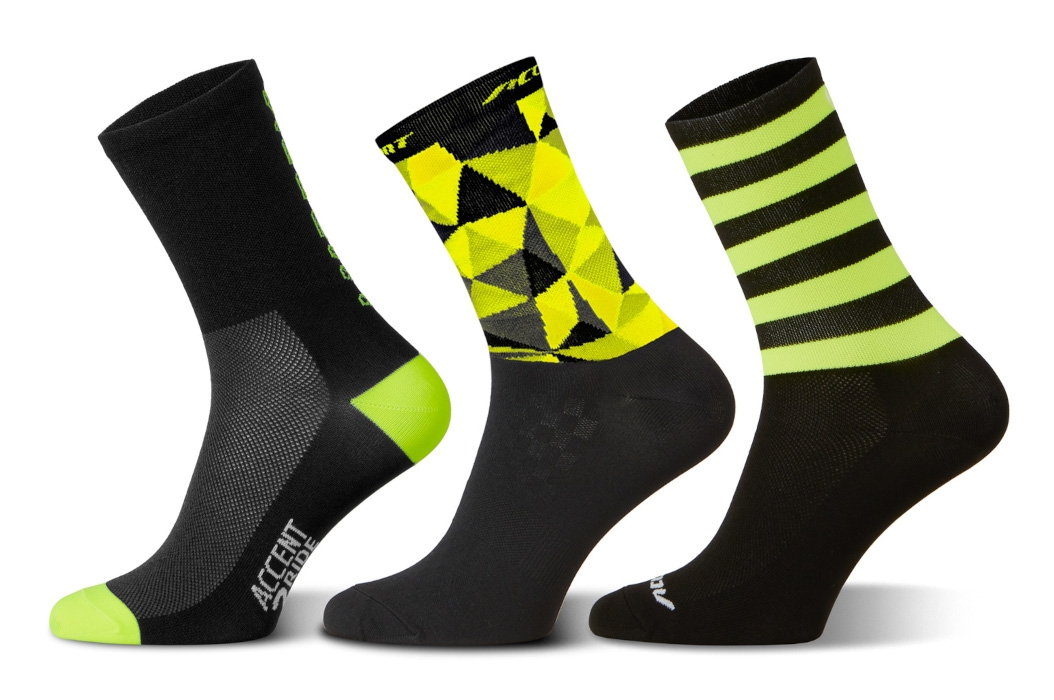 Accent Fluo Long Socks Set