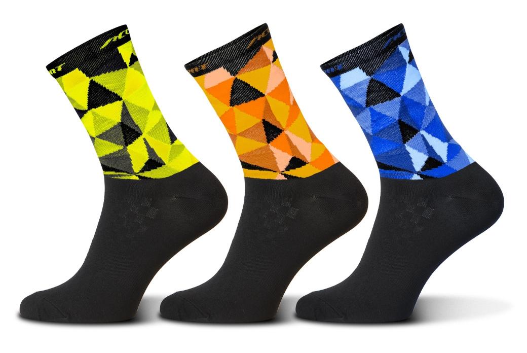 Accent Mosaic Long Socks Set