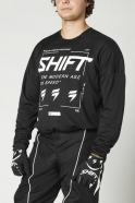 Shift - White Label Bliss Black/White Jersey