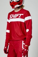 Shift - White Label Haut Red Jersey