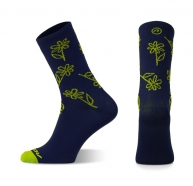 Accent Flowers Long Socks Set
