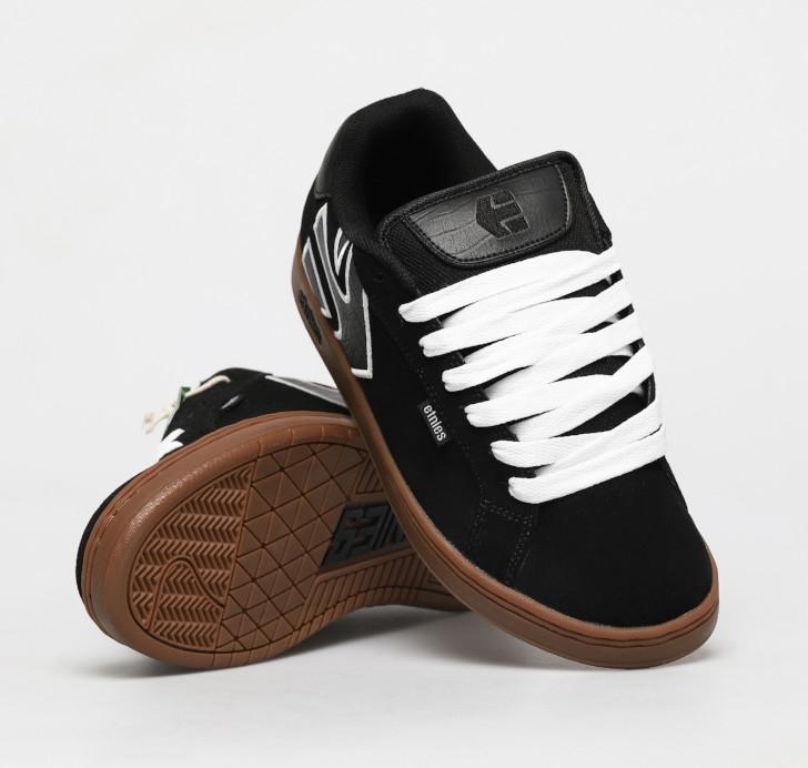 Etnies Fader Black/White/Gum Shoes
