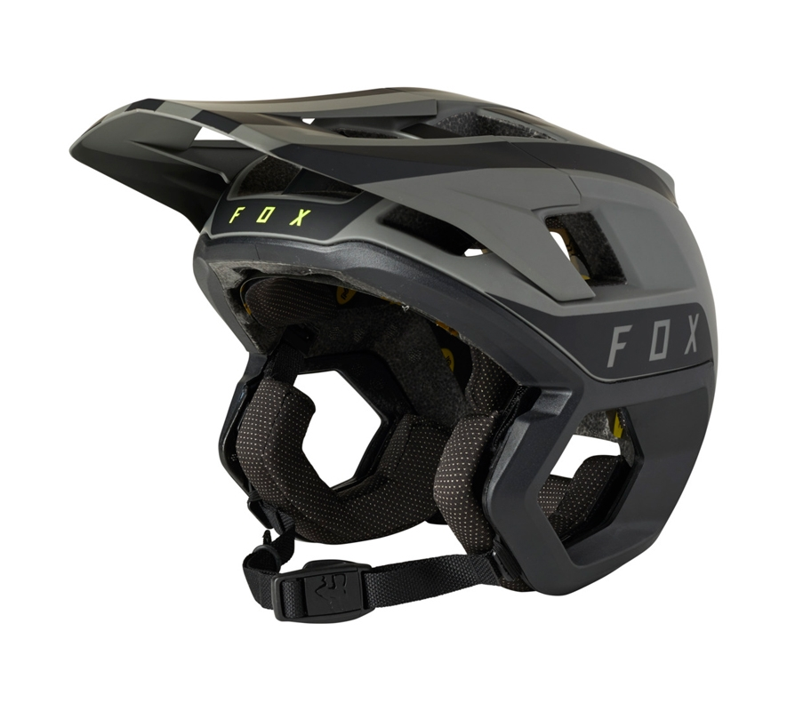FOX Dropframe Pro Black Stripe MIPS® Helmet