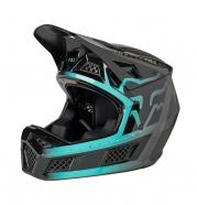 FOX - Rampage PRO Carbon Cali Teal Helmet
