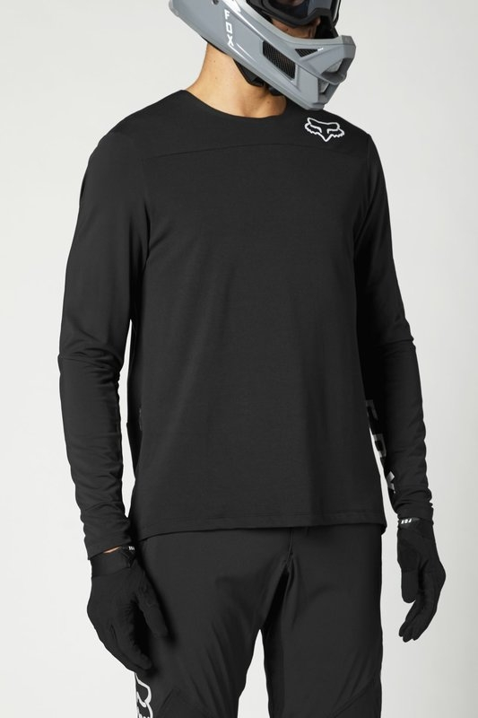 FOX Defend Elevated Black Jersey