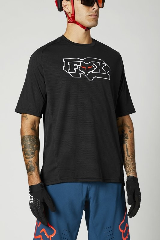 FOX Defend Black Jersey