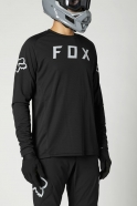 FOX - Defend Black LS Jersey