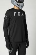 FOX - Defend Black LS Jersey