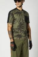 FOX - Ranger Drirelease® Short Sleeve Jersey Henley Olive Green