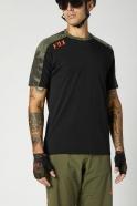 FOX - Ranger Drirelease® Short Sleeve Jersey Black Olive Green