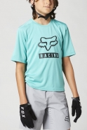 FOX - Youth Ranger Teal SS Jersey