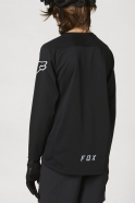 FOX Youth Defend Long Sleeve Jersey Black