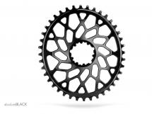 AbsoluteBlack - Oval Direct GXP/BB30 Chainring Black