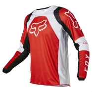 FOX - Youth 180 Lux Fluorescent Red Jersey