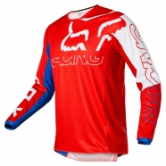 FOX - Youth 180 Skew White/Red/Blue Jersey