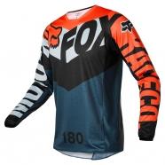 FOX - 180 Trice Grey/Orange Jersey