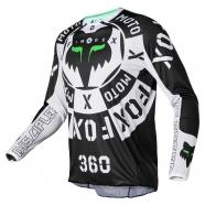 FOX - 360 NOBYL Jersey Black/White