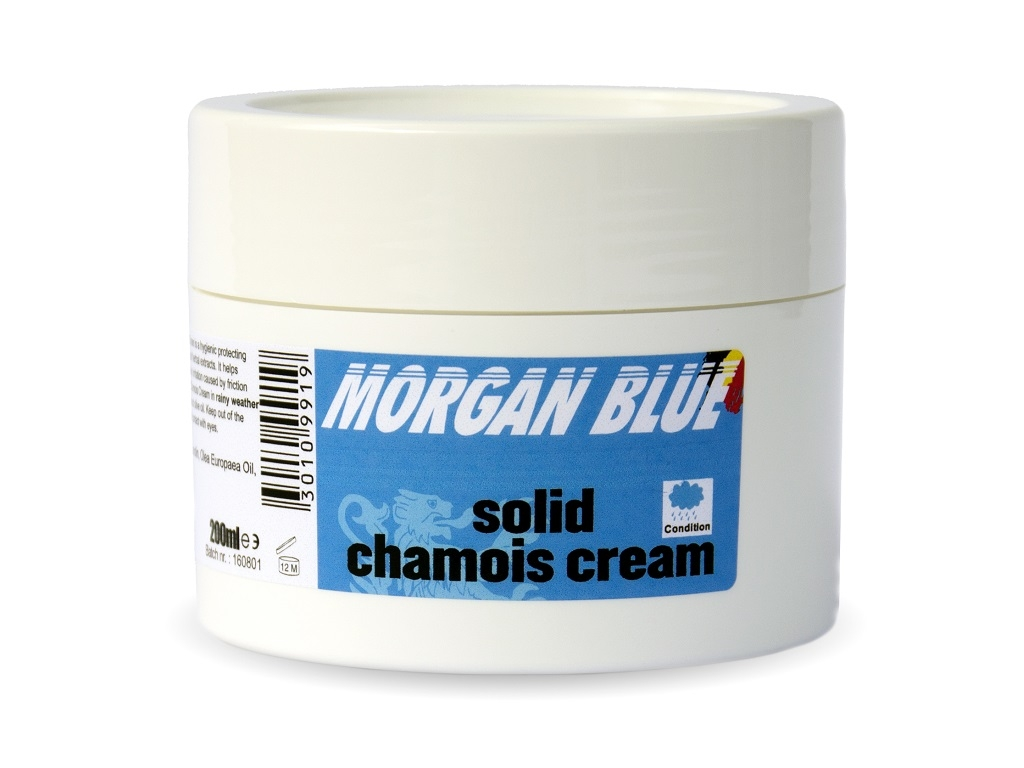 Morgan Blue Solid Chamois Cream