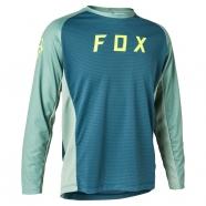 FOX - Youth Defend Long Sleeve Jersey Light Blue