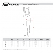 Force Winter cycling pants BRIGHT