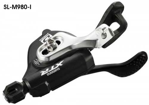 SHIMANO XTR SL-M980   3-SPEED FRONT BICYCLE SHIFTER