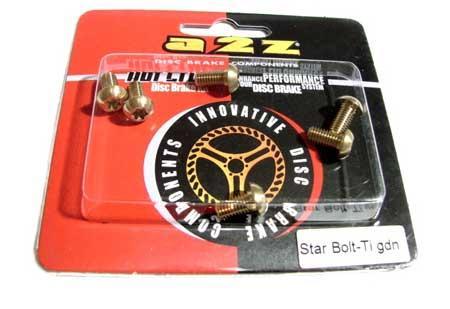 A2Z Titanium rotor bolts