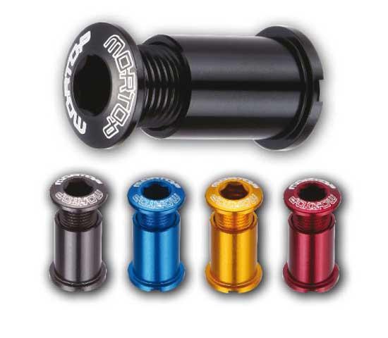 Mortop Aluminium chainring bolts [long]