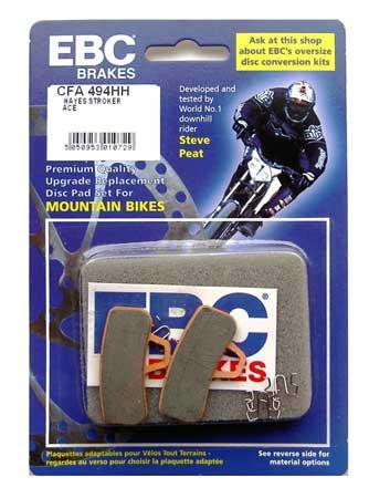 EBC Disc brake pads for Hayes Stroker ACE [CFA494HH Gold]