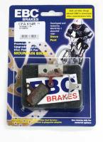 EBC - Disc brake pads for Shimano XTR, XT, SLX, ALFINE [CFA614R Red]