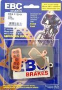 EBC - Disc Brake Pads Avid Code, Code R 2011-2012 [CFA616HH Gold]