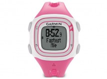 Garmin - Forerunner 10 Running watch (Pink/White)
