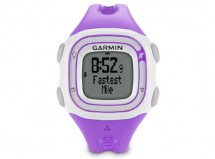 Garmin - Forerunner 10 Running watch (Violet/White)